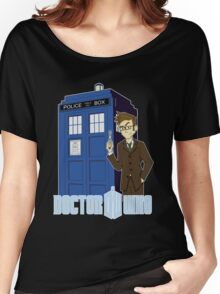 Dr Who Animated (no background) Women's Relaxed Fit T-Shirt