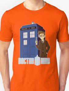 Dr Who Animated (no background) Unisex T-Shirt