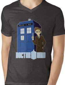 Dr Who Animated (no background) Mens V-Neck T-Shirt