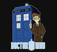 Dr Who Animated (no background) Unisex T-Shirt