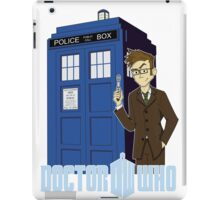 Dr Who Animated (no background) iPad Case/Skin