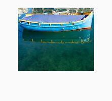 Crystal Clear Mediterranean Blue - Sea Boy at Anchor Unisex T-Shirt