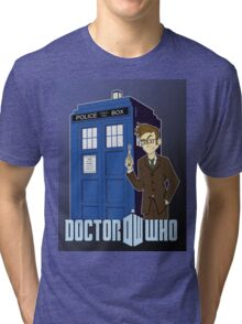 Doctor Who Animated Tri-blend T-Shirt