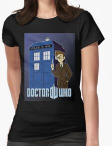 Doctor Who Animated Womens T-Shirt