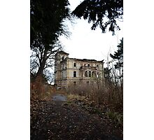 Abandoned asylum Photographic Print