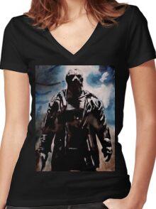 Jason Women's Fitted V-Neck T-Shirt