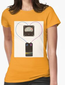 simbol of love Womens Fitted T-Shirt
