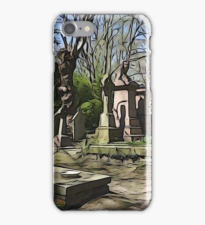 Graves iPhone Case/Skin