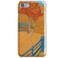 JOHN STEN, HÖSTLANDSKAP (AUTUMN LANDSCAPE) iPhone Case/Skin