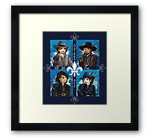 The Musketeers season 3 Framed Print