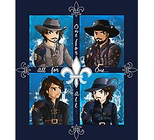 The Musketeers season 3 Photographic Print