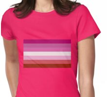 Lesbian Pride! Womens Fitted T-Shirt