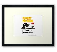 PUPPET FICTION - PUPAZZO CRIMINALE Framed Print