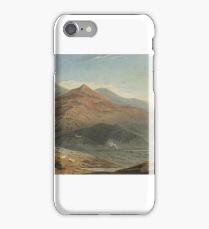 John Varley, O.W.S. (London )   Snowdon from Moel Hebog with Beddgelert below, North Wales iPhone Case/Skin
