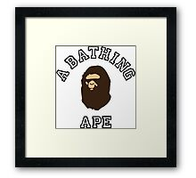 bape Framed Print