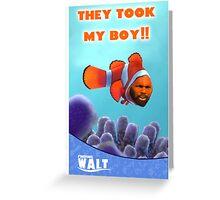 Finding Walt Greeting Card