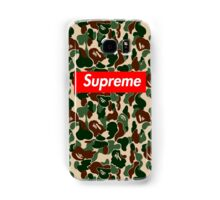 supreme army Samsung Galaxy Case/Skin
