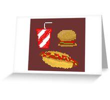 16-Bit Nom Noms Greeting Card