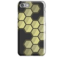 Hexcessive [Dark] - [Gold] iPhone Case/Skin