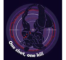 One shot, one kill Photographic Print