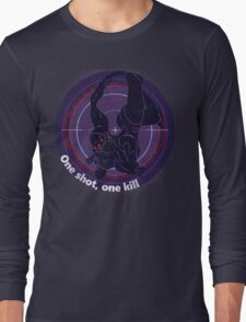 One shot, one kill Long Sleeve T-Shirt