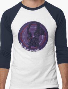 One shot, one kill Men's Baseball ¾ T-Shirt