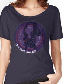 One shot, one kill Women's Relaxed Fit T-Shirt