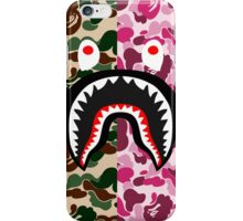 shark army red iPhone Case/Skin