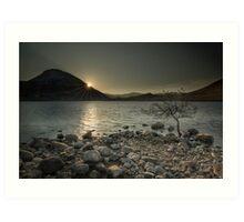 Mount Errigal - Donegal Art Print