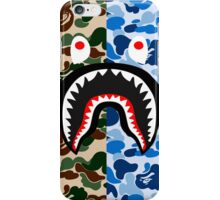 shark army blue iPhone Case/Skin