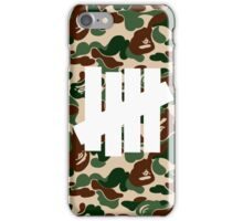 undefeated iPhone Case/Skin