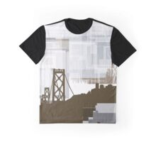 San Francisco geometric skyline 5 Graphic T-Shirt