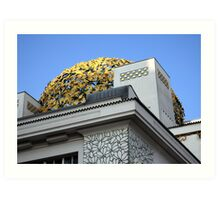 Secession Building Vienna Art Print