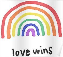 LGBTQA+  PRIDE [Love Wins] Poster