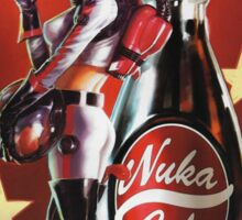 Nuka Cola Girl Sticker