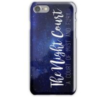 The Night Court iPhone Case/Skin