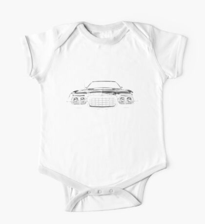 1972 ford gran torino One Piece - Short Sleeve