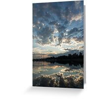 Sky Glory Greeting Card