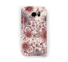 Vintage flower background Samsung Galaxy Case/Skin