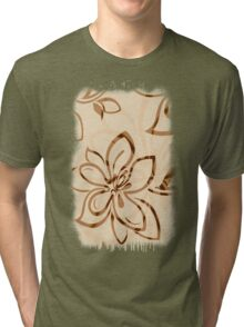 Brown Garden Tri-blend T-Shirt