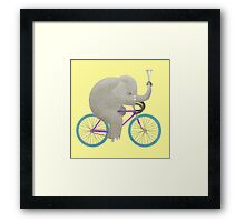 Ride 3 Framed Print