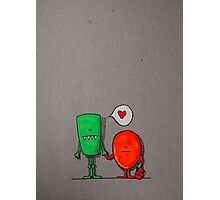 Love monsters Photographic Print