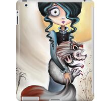 Goth Girl and Silver Fox - Beastly Creatures iPad Case/Skin
