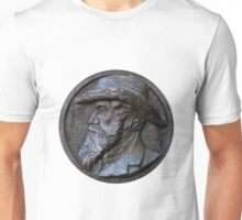 bas-relief with portrait of man Unisex T-Shirt