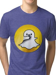 snapchat Tri-blend T-Shirt