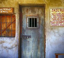 Goldfield Ghost Town Jail by Teresa Zieba