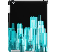 Hologram city panorama iPad Case/Skin