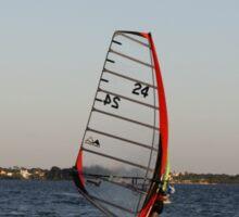 Wind sailor in the Gulf Sticker
