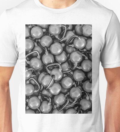 Kettlebells B&W Unisex T-Shirt