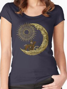 Moon Travel Women's Fitted Scoop T-Shirt